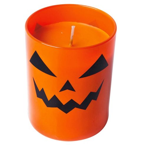 Tesco Halloween Candle in a Jar, Mixed CDU