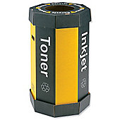 Acorn Cartridge Recycling Bin with Drop-out Bottom Capacity 60 Litres W360xD677mm Ref 059783 [Pack 5]