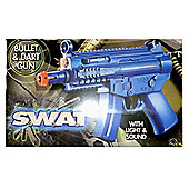 SWAT Bullet and Dart Gun with Light and Sound