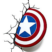 Philips Marvel Avengers Captain America Shield 3D LED Wall Light