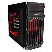 Cube Panther VR Ready Gaming PC Core i5 Quad Core with GeForce GTX 1070 Graphics Card Intel Core i5 Seagate 1Tb SSHD with 8Gb SSD Windows 10 GeForce G