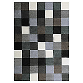 InRUGS Firenze Grey Tufted Rug - 290cm x 200cm (9 ft 6 in x 6 ft 6.5 in)