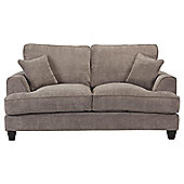 Kensington Fabric Small Sofa Grey
