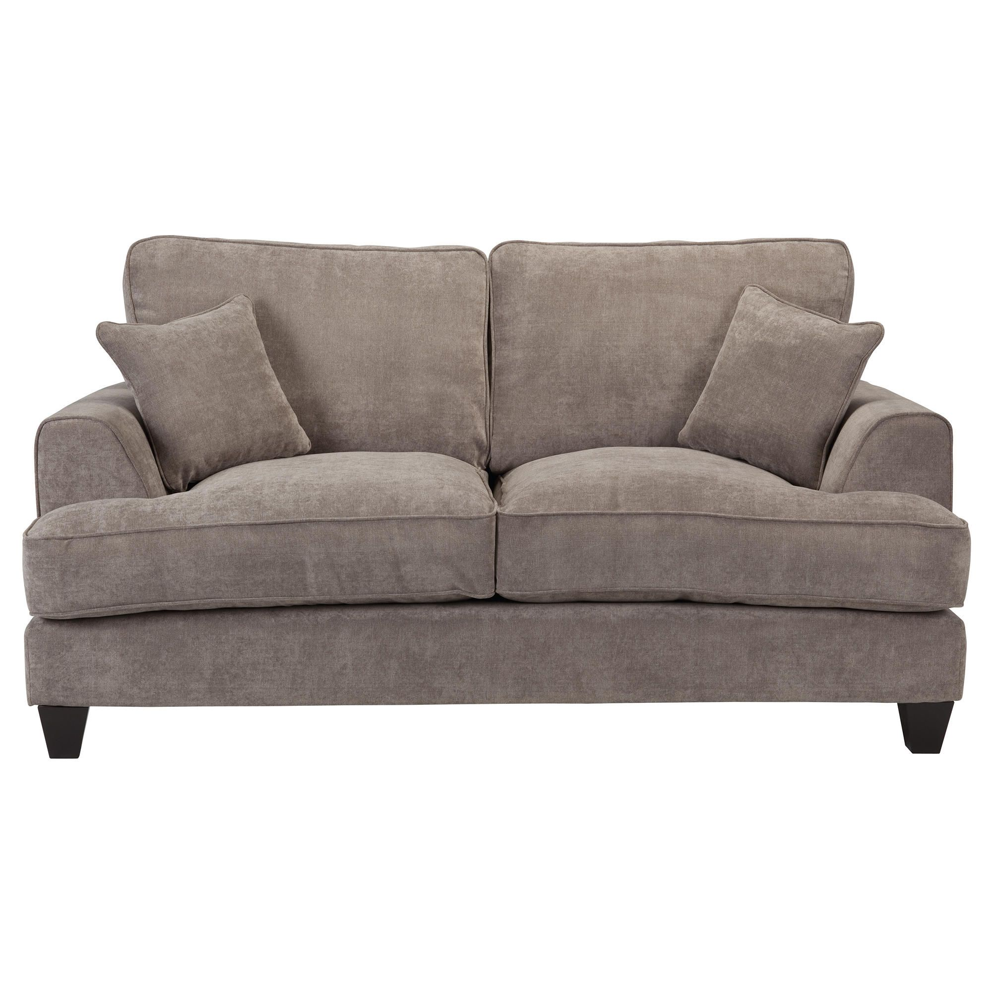 Kensington Fabric Small Sofa Grey at Tesco Direct