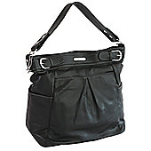 Vanchi London Hipster Changing Bag Black
