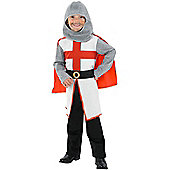 Child St George Knight Costume Small