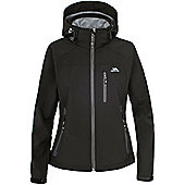 Trespass Ladies Bela Softshell Jacket - Black