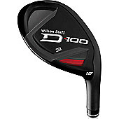 Wilson Staff Mens D-100 Hybrid Clubs Flex S Loft 2 Iron Replacement (17 Deg.)