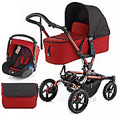 Jane Crosswalk Micro Pushchair (Red)