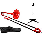 Tromba Plastic Trombone Outfit - Red