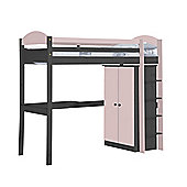 Maximus High Sleeper Set 1 Graphite and Pink