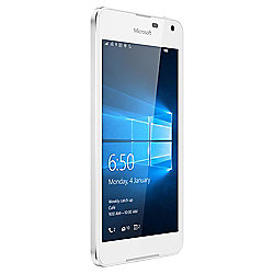 Tesco Mobile Microsoft Lumia 650 White