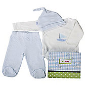 Minene 3 Piece Gift Box Blue  White