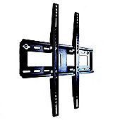 "Duronic TVB122M Fixed Black Wall Bracket For 23"" - 55"" Wide Screens"