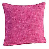 Homescapes Nirvana Cotton Pink Scatter Cushion, 60 x 60 cm
