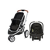 Mothercare Xpedior Three Wheel Base Pack- Silver