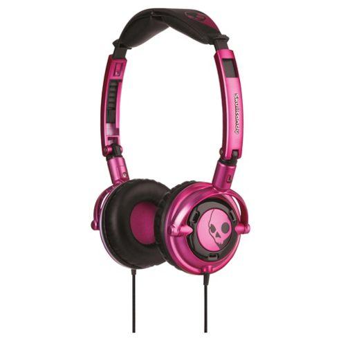 Skullcandy Lowrider Overhead Headphones - Pink