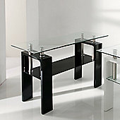 Wilkinson Furniture Calico Console Table - Black