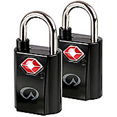 Lifeventure TSA Mini Padlocks - 2 Pack