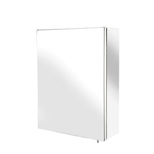 Croydex Avon Small Single Door Stainless Steel Bathroom Cabinet
