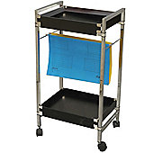 Filo - Filing / Crafting / Art Storage Trolley - Black