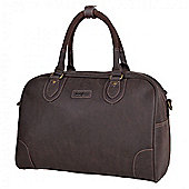TLL006 Troop London Faux Leather Large Holdall
