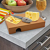 Nibbled Cheese Board and Knife Set