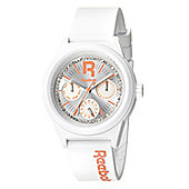 Reebok Classic R Ladies Silicone 24 hour, Day & Date Watch RC-CDD-L5-PWPW-WC