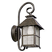 LEDS-C4 Persefone Outdoor Wall Light in Brown