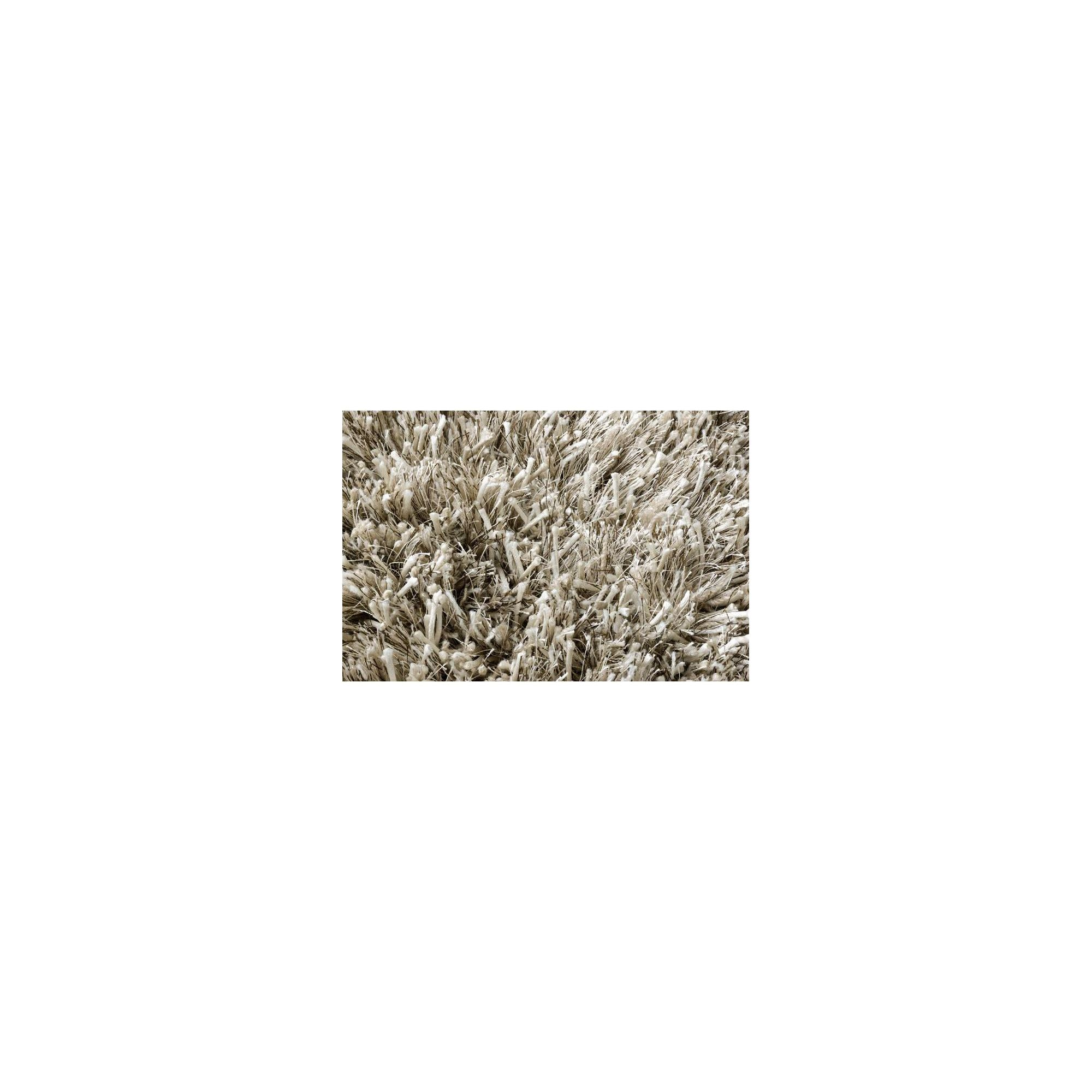 Linie Design Ronado Sand Shag Rug - Round 150cm at Tesco Direct