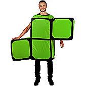 Adult Tetris S Green Morph Costume