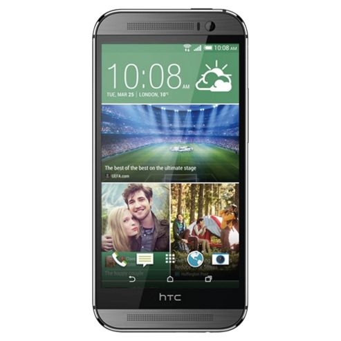 Tesco Mobile HTC One (M8) Gunmetal Grey