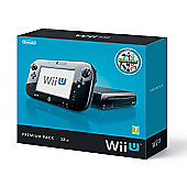 Wii U - 32GB Premium Pack with Nintendo Land game (Black)