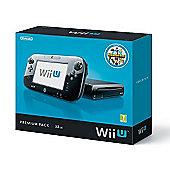 Wii U - 32GB Premium Pack with Nintendo Land game (Black)