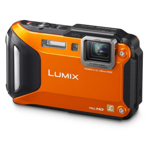 Panasonic Action Lumix FT5 orange camera