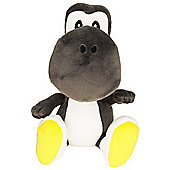 "Official Nintendo Super Mario Plush Series Stuffed Toy - 6"" Black Yoshi"
