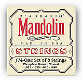 DAddario J74 Phosphor Mandolin Strings -Medium