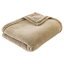 Beautiful Basic Throw, Taupe