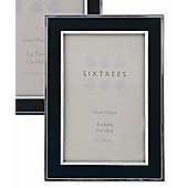 Sixtrees Abbey Inlay Photo Frame - Black - 13 x 18 cm (5 x 7 in)