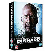 Die Hard Quadrilogy With Bonus Disc (DVD Boxset)