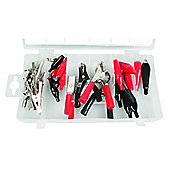 24-Piece Alligator Clip Assortment