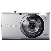 Canon PowerShot A2300 Digital Camera, Silver