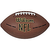 Wilson NFL Super Grip Composite Leather Ball Official American Football