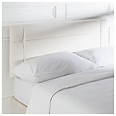Seetall Somerset Headboard Linen Effect Cream King