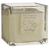 Wax Lyrical Made in England Fresh Linen Filled Candle