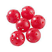 Golf Locker Mens Air Flow Golf Balls in Red