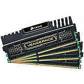 Corsair Vengeance 16GB (4 x 4GB) Memory Kit PC3-15000 1866MHz DDR3 DIMM