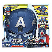Captain America Super Soldier Gear - Battle Helmet