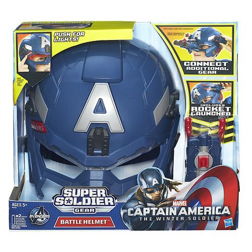 Captain America Super Soldier Gear - Battle Helmet