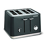 Morphy Richards 240004 Aspect Steel 4 Slice Toaster - Titanium Grey